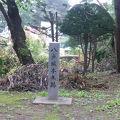 写真:八戸城跡