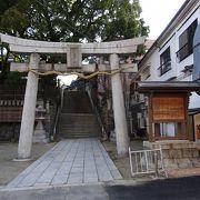 晋作との深いかかわりが深い神社