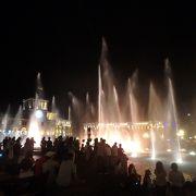 夜の噴水ショーは必見