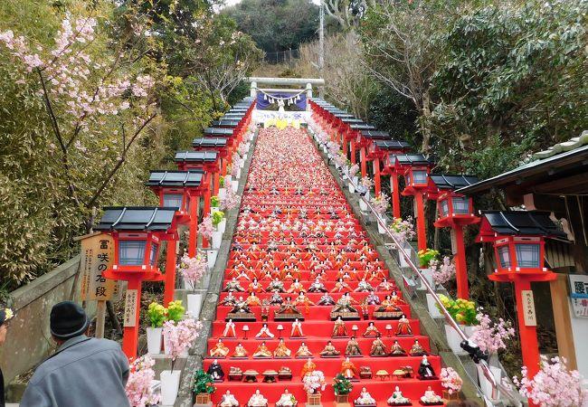 勝浦の大きなひな祭り