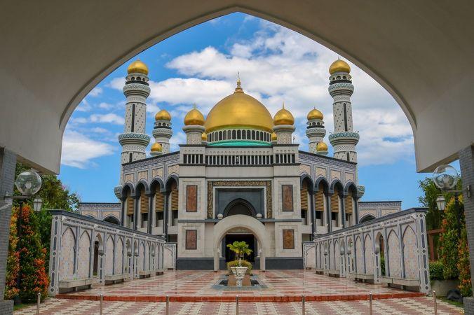 ジャメ アスル ハッサナル ボルキア モスク