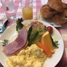 京の朝食 1050円