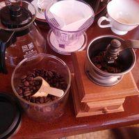 部屋にコーヒーミルがあって、香り豊かにいただきました!