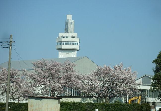 邑楽町シンボルタワー「未来MiRAi」