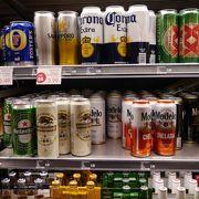 コンビニでビールも買えます
