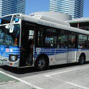 京成バスに似た感じの塗装のバスでした。