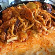 根強い人気の韓国料理店