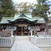 芦屋・夙川さくら満喫ウオークで芦屋神社に寄りました