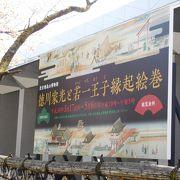 開館20周年記念の飛鳥山博物館