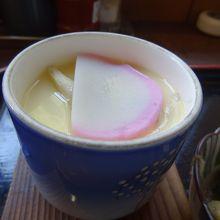 具沢山の茶碗蒸し