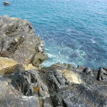 海がとても綺麗でした。