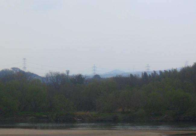 木津川の岸辺