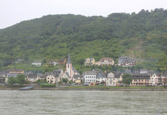 ライン川沿いの町並み