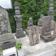 神奈川県有形民俗文化財の庚申塔があります