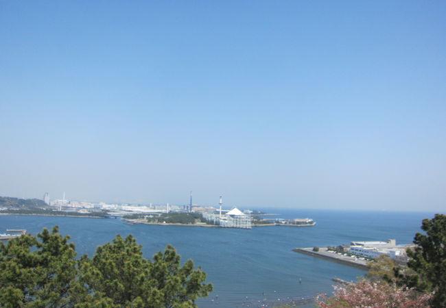野島山展望台