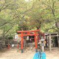 北野異人館地区にある 見晴らしのよい神社です。