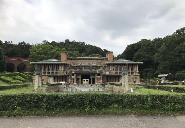 帝国ホテル中央玄関 (博物館明治村内)