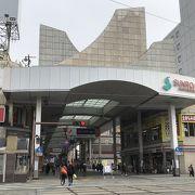 熊本城も近い中心部