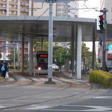 熊本駅前停留場