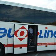 都市間交通にバスは便利です