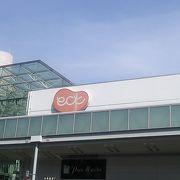 名鉄岐阜駅南隣 新岐阜百貨店跡地にある2階建ての商業施設