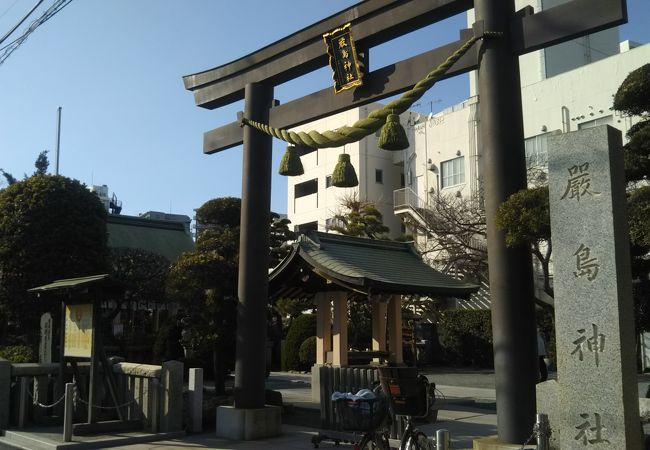 綺麗な神社でした