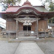 三朝神社の守り神