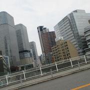 堂島川に架かる橋です
