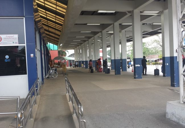 タイのごく普通の地方空港