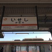 参宮線・伊勢市駅:伊勢神宮最寄り駅
