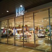 海浜幕張駅構内のショッピングゾーン