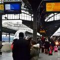 ストラスブールから乗車した列車はルクセンブルグ行に パリでフランス西部を結ぶ接点