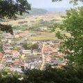 写真:鹿野城跡