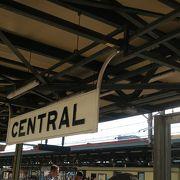 大きな駅です