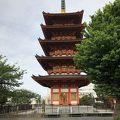 写真:五重塔 (飯沼観音)