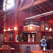 グランビルアイランド内に1984年に出来たカナダ初の地ビールメーカーのミニ・ブリュワリーです。
