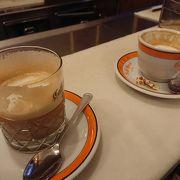 カフェグレコでコーヒーエスプレッソ