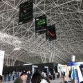とても新しく綺麗なザグレブ空港