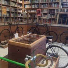 自転車の展示内容