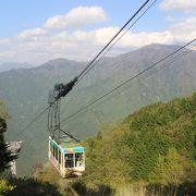 リフトに乗りかえて石鎚山神社まで行けます