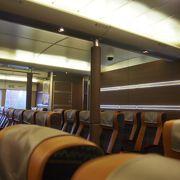 マカオから香港までの1時間の船旅