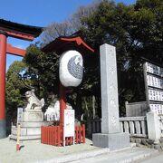 緑豊かな神社
