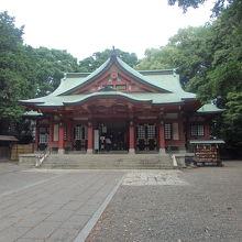 世田谷八幡宮社殿