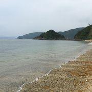 加計呂麻島と遠浅海岸