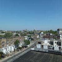 6階に窓からの眺望。ちょうどロンドン中心方向です。