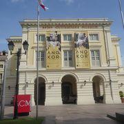 シンガポール川河口部の北側にあるアジア文明博物館