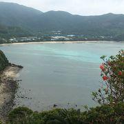 大島海峡と湾内の海の青さが最高