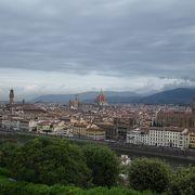 フィレンツェの街が一望できます