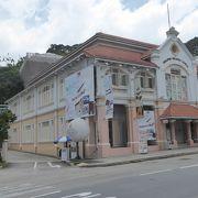 コンパクトなシンガポール切手博物館