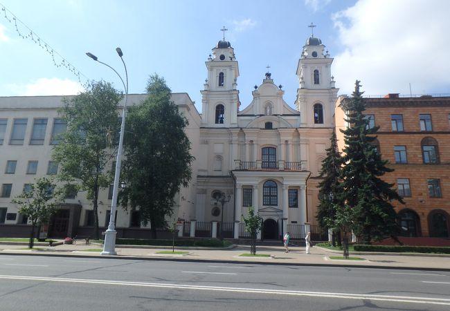 1710年にローマカトリック教会として建てられた教会
